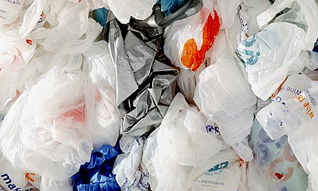 too many carrier bags