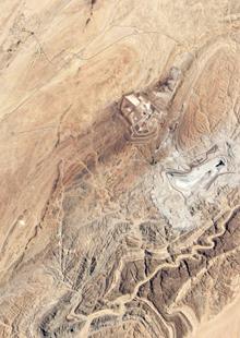 Rossing uranium mine near Swakopmund, Namibia