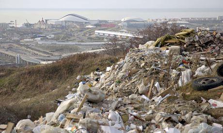 2014 Goldman Environmental prize : Activist Suren Gazaryan : Dump in Sochi, Russia