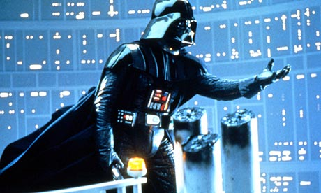 David Prowse as Darth Vader in The Empire Strikes Back