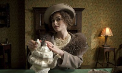 Helena Bonham Carter as the Queen Mother in Tom Hooper's awards hoover The King's Speech
