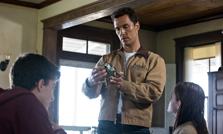 Space and time … Matthew McConaughey in Christopher Nolan's Interstellar.