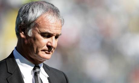 Claudio Ranieri cabizbajo