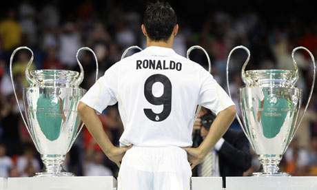 Image result for ronaldo champions league 2009 Real Madrid