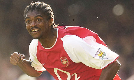 Arsenal's former Nigerian player Kanu