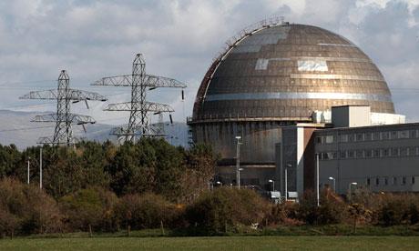 Sellafield nuclear reprocessing site Cumbria