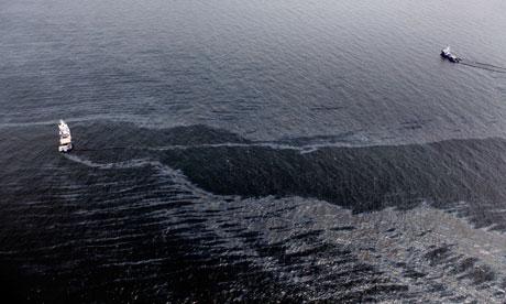 La marea nera nel Golfo del Messico