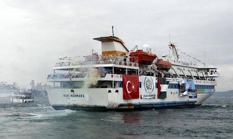 Gaza flotilla Mavi Mármara