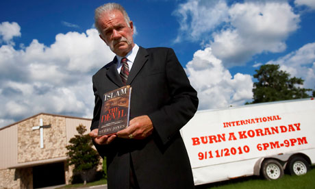 Photograph: Chip Litherland/Polaris/EyevineTerry Jones, the Florida pastor who planned to stage a Qur'an-burning protest on the anniversary of the September 11 attacks, has decided to cancel the event.
