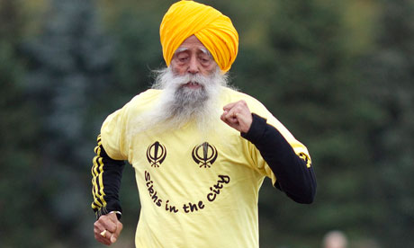 Motivation from Fauja Singh