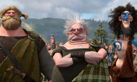 Still from Pixar's Brave
