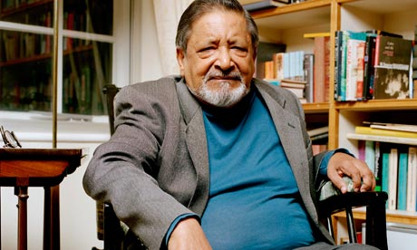 V.S. Naipaul from the Guardian
