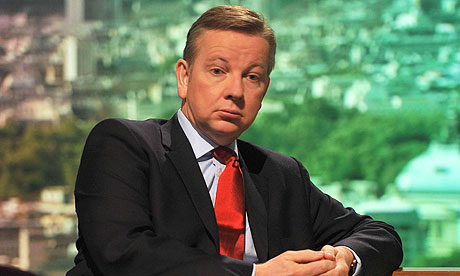 Michael Gove on The Andrew Marr Show.