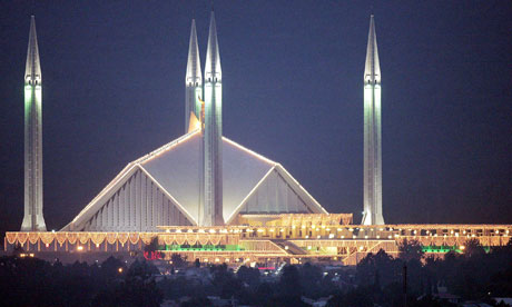 Pakistan's Faisal mosque