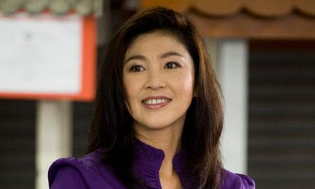 Yingluck Shinawatra, 2011
