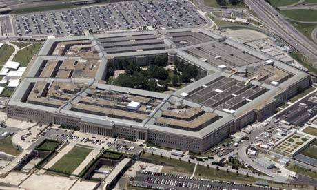 Pentagon Building in Washington