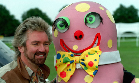Mr Blobby's ghost thankfully not invited.