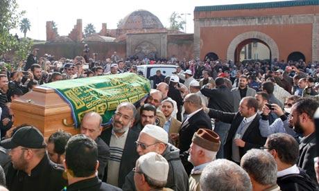 abdessalam yassine funeral