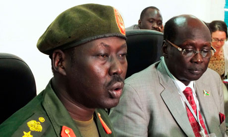 Sudan People's Liberation Army and South Sudan government spokesmen