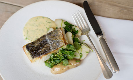 Angela Hartnett's pollock recipe