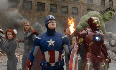 A still from 2012 superhero film The Avengers