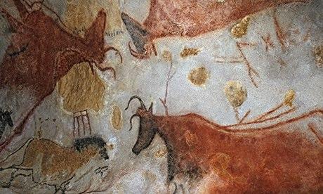 Grotte de Lascaux II cave paintings in Montignac-sur-Vezere, France.