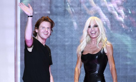 Christopher Kane and Donatella Versace