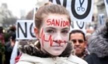 Spanish demonstration against health privatisation in Madrid