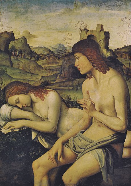 Niccolo Pisano An Idyll: Daphnis and Chloe