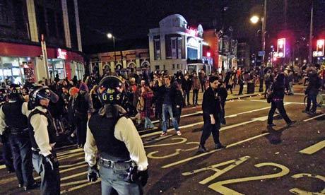Brixton party celebrating Margaret Thatcher's death