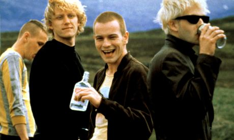 Scene from the film of Trainspotting