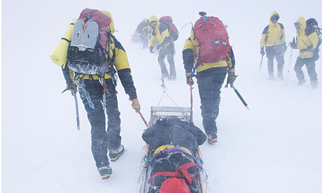 The Cairngorm Mountain Rescue Team