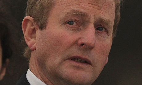 Enda Kenny, the taoiseach, said: 'I understand the rage and the anger of so many people.'