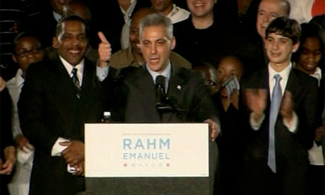 Rahm Emanuel wins race for Chicago mayor