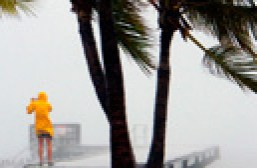 Tropical storm Isaac hits Key West, Florida