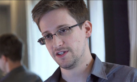 Edward Snowden: 'They're going to  say I aided our enemies' - video interview