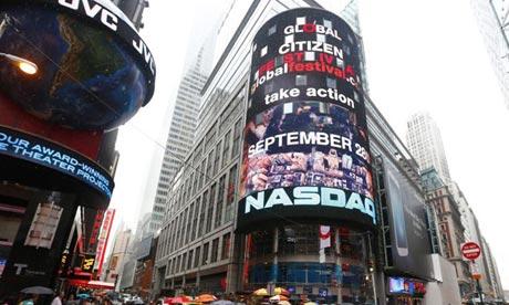 NASDAQ headquarters in New York