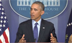 Iraq crisis: Obama says US combat forces will not go to Iraq - video