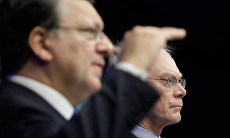Herman Van Rompuy, Jose Manuel Barroso