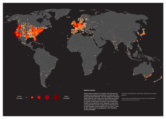 Zombie Map of the World