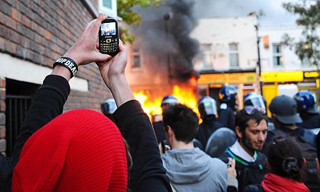 Riots in Hackney, London, Britain - 08 Aug 2011