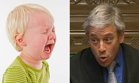 Toddler and John Bercow