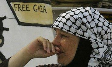 Yvonne Ridley passenger on board S.S. Gaza
