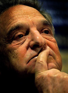 Financier George Soros