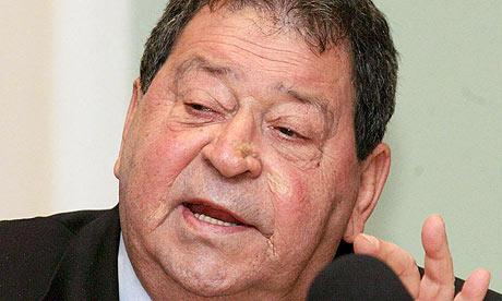 Ehemalige israelische Verteidigungsminister Benjamin Ben Elizer