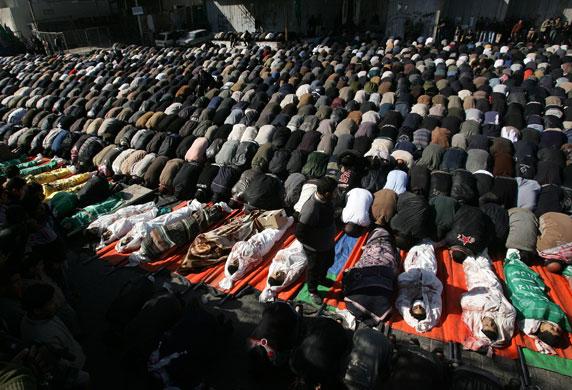 Gaza conflict enters day twelve