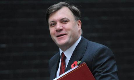 Ed Balls - schools secretary