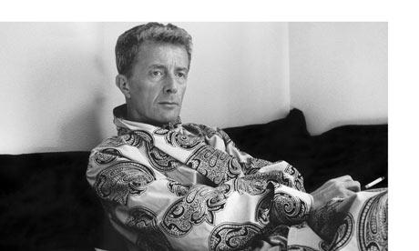 Paul Bowles in his flat in Tangier, 1956