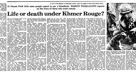 Khmer rouge article