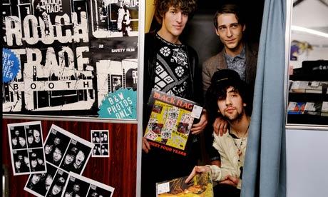 Rough Trade records, on Brick Lane. Photograph: Sarah Lee
